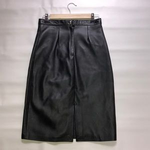 Dresses & Skirts - Hemingway collection real leather skirt